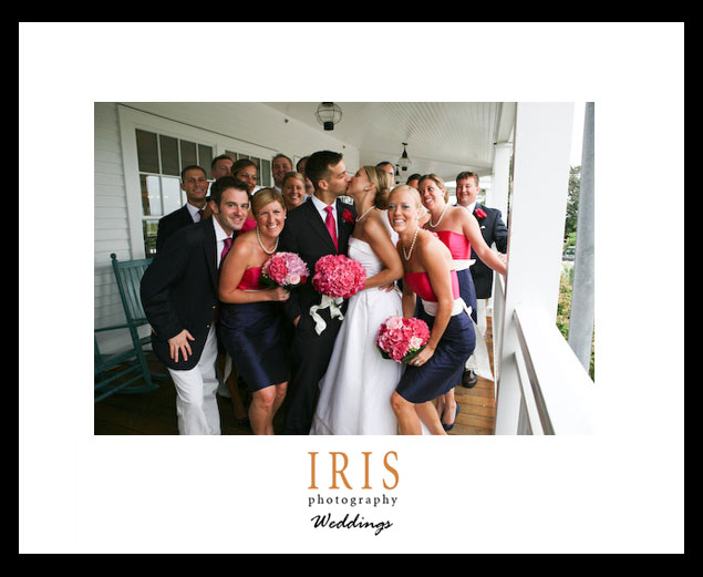 Bridal-party-on-harborview-porch