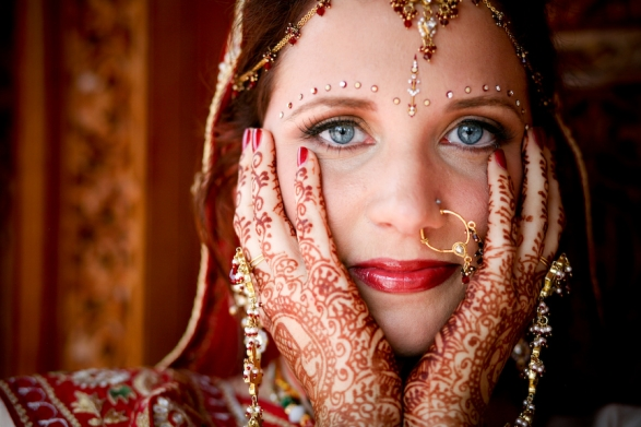 favorite portrait from Erin and Chirag 39s Hindu wedding that we shot last